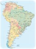 mapa da america central