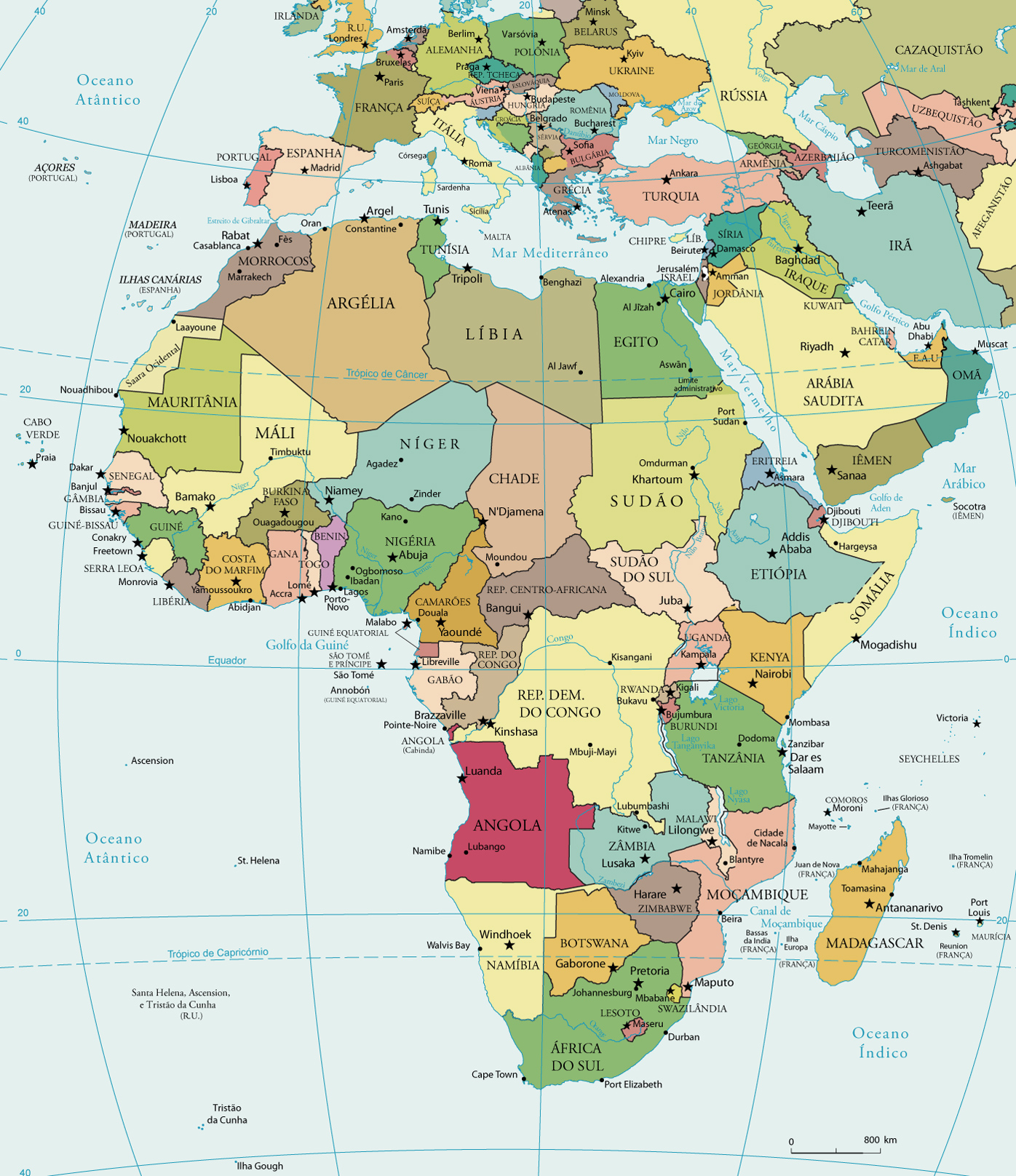 Africa, No se and Tans on Pinterest Mapa Africa posted by pinterest ...