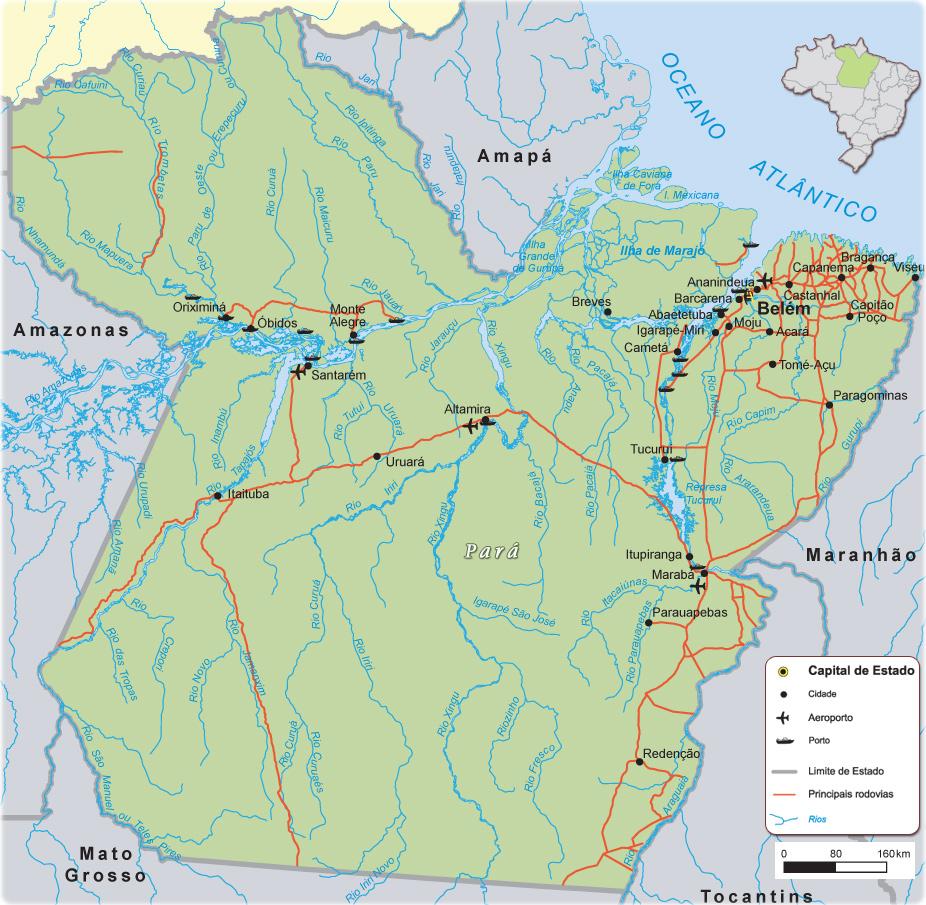 Mapa estado para