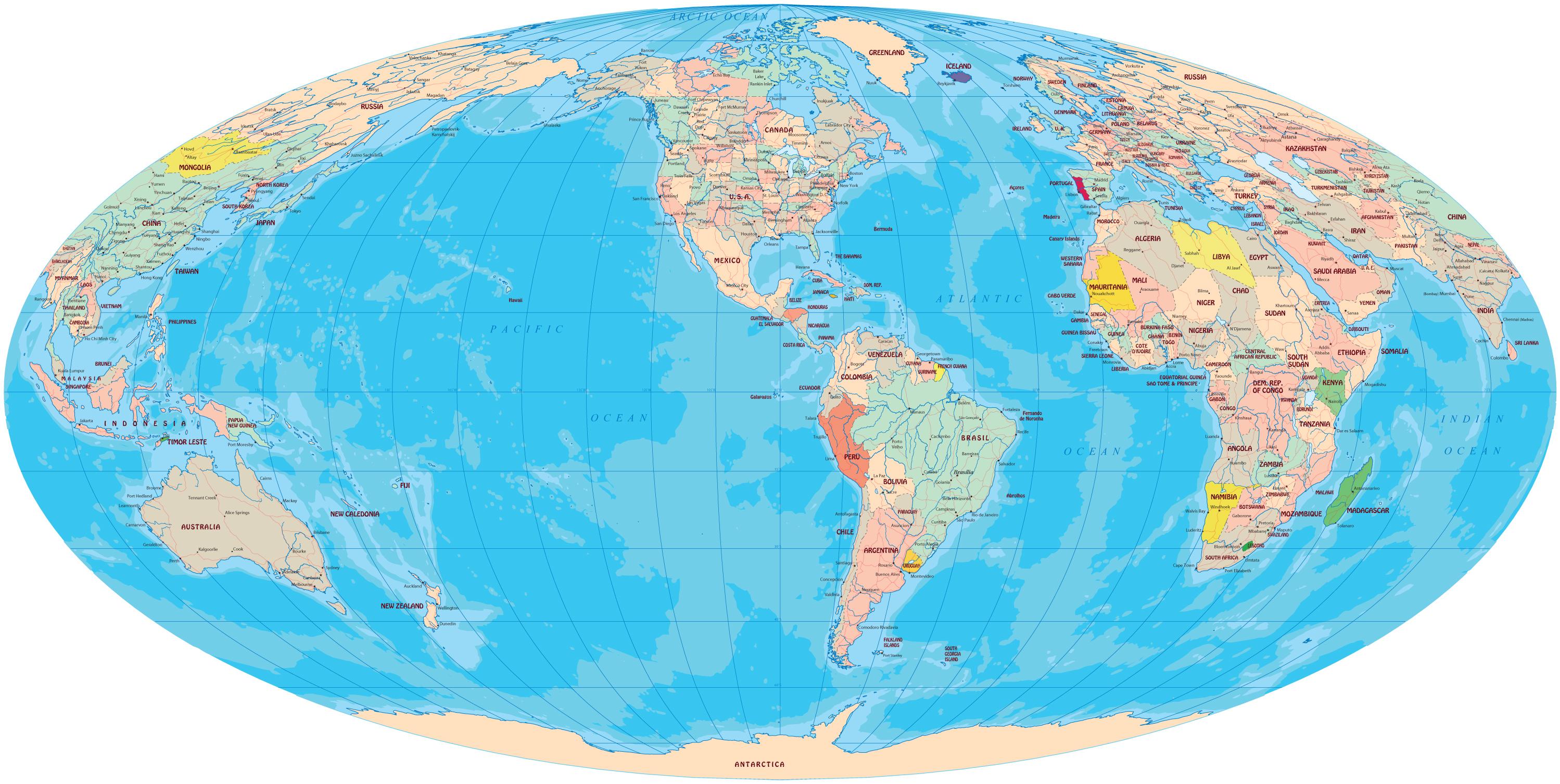 Mapas do Brasil e do Mundo  Guia Geogrfico