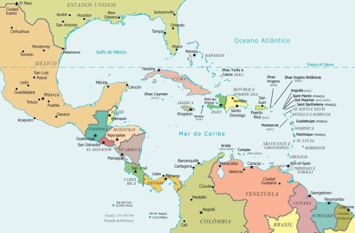 mapa america do sul e central Amazing Mapa America Central Ideas   Printable Map   New  mapa america do sul e central