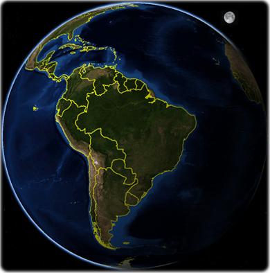 mapa mundo brasil Mapas do Brasil e do Mundo   Guia Geográfico mapa mundo brasil